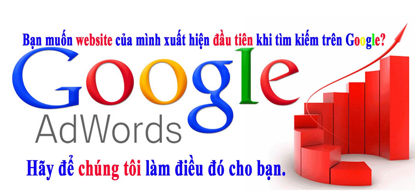 Dịch vụ quảng cáo Google Adword - Đưa website của bạn lên TOP Google