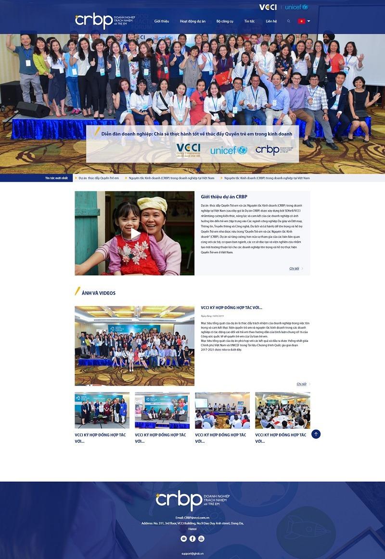 Dự án Website CRBP
