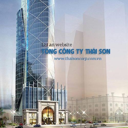 Hệ thống Website Tổng Công Ty Thái Sơn