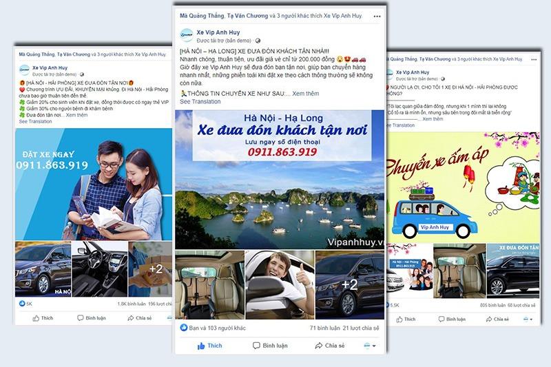 Dự án VIP Anh Huy: Xe Sang cho khách VIP